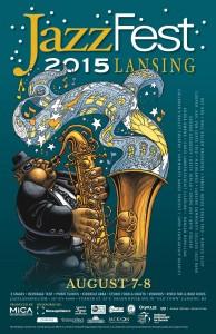 Jazzfest 2015 Poster