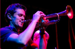 Chris Lawrence on Trumpet
