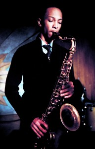 Marcus Elliott on sax.